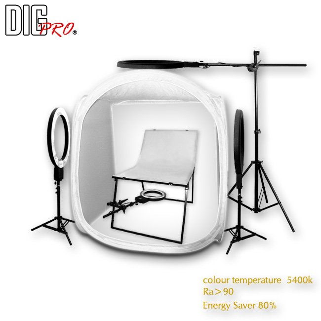 DigPro 120cm/4 Light Soft Lighting Studio