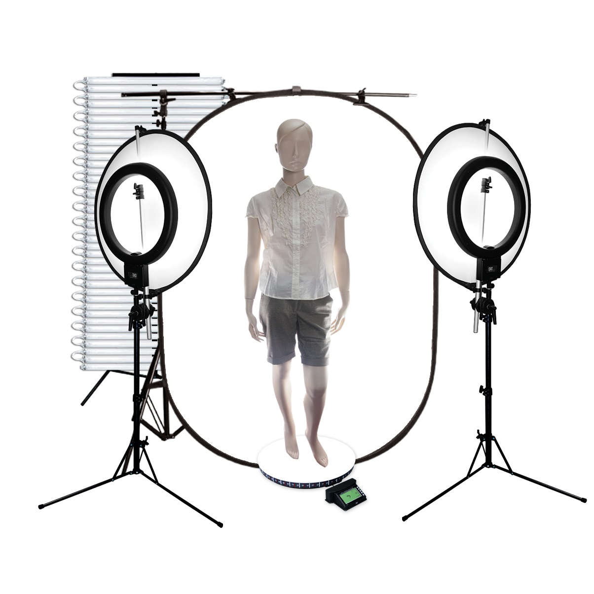 DigPro 2 in 1 Series + professional back lighting set