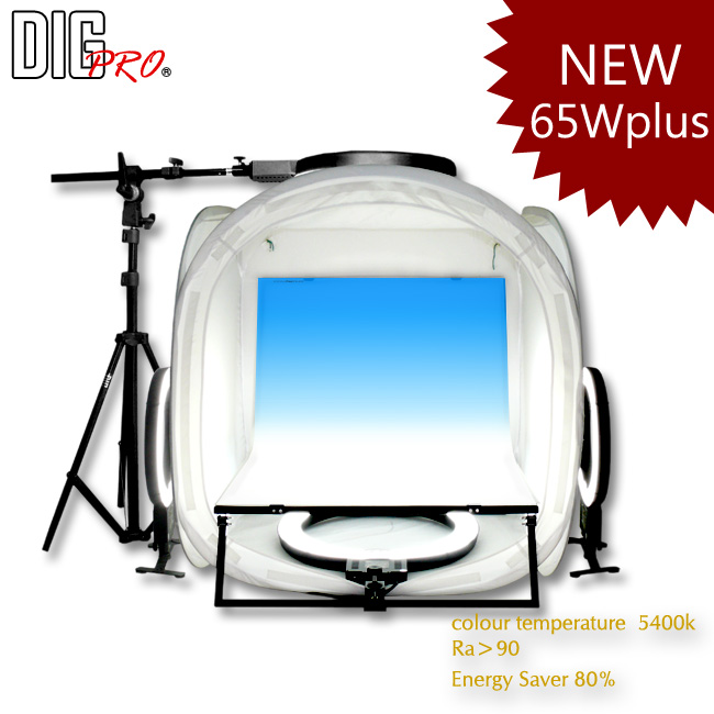 DigPro 80cm 4 Light Studio Kit Plus