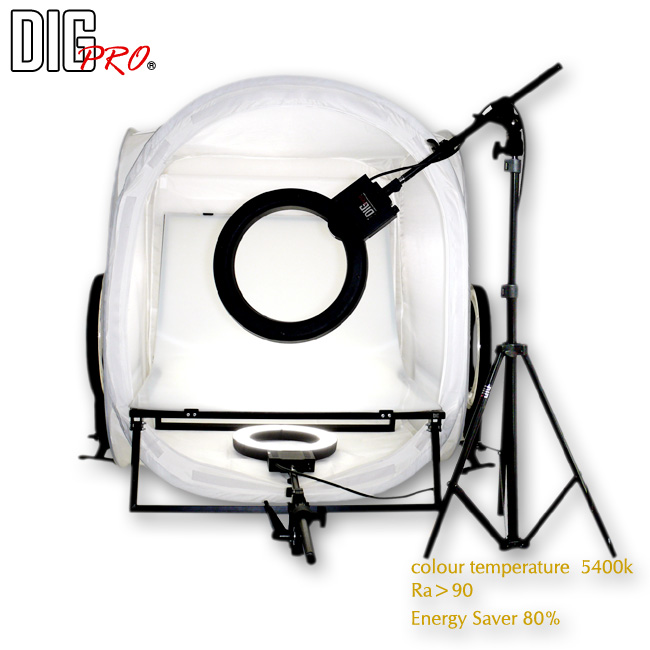 DigPro 80cm/4 Light Soft Lighting Studio Kit