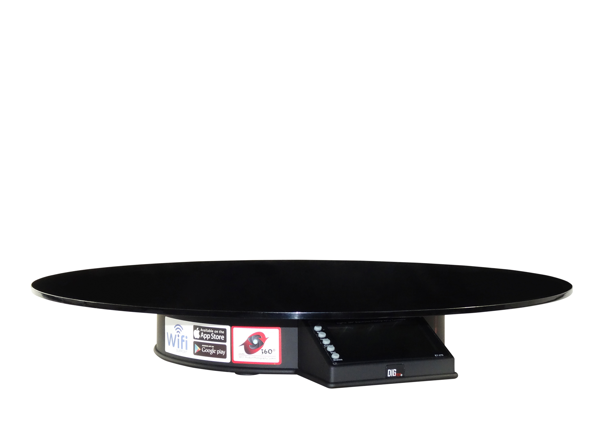 Reflection plate 45cm  (Glossy Black) (For ET-270)