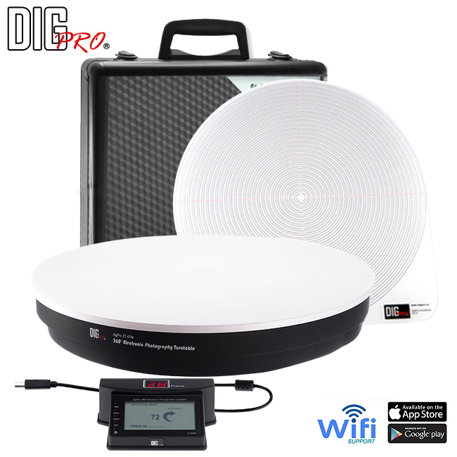 DigPro Second Generation Heavy Duty 360 Turntable + Software
