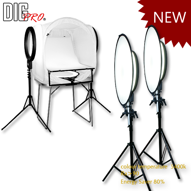 2 in 1 Soft Lighting Studio Kit
