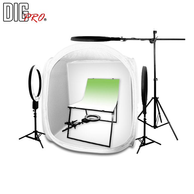 DigPro120cm/4 Light Studio Plus